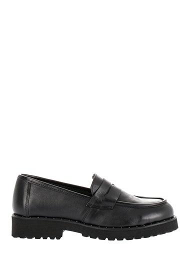 Pier Lucci Deri Ayakkabı Siyah